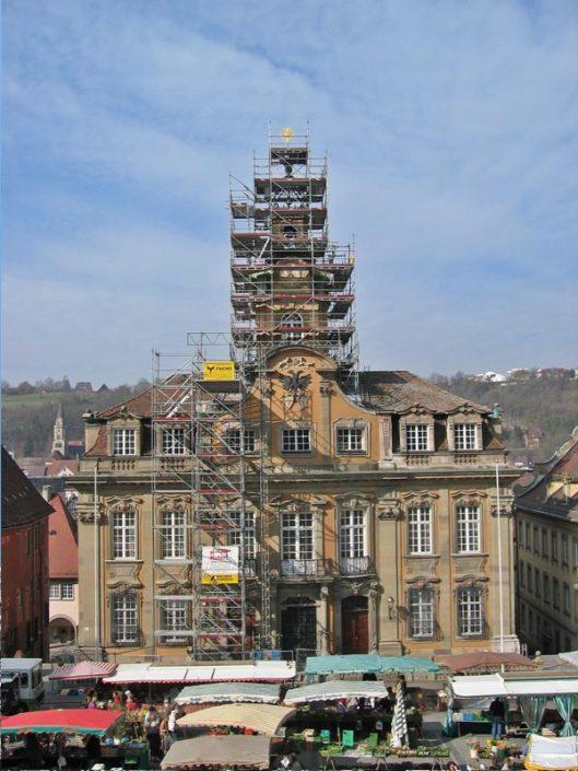 Schwaebisch Hall Rathaus 2004